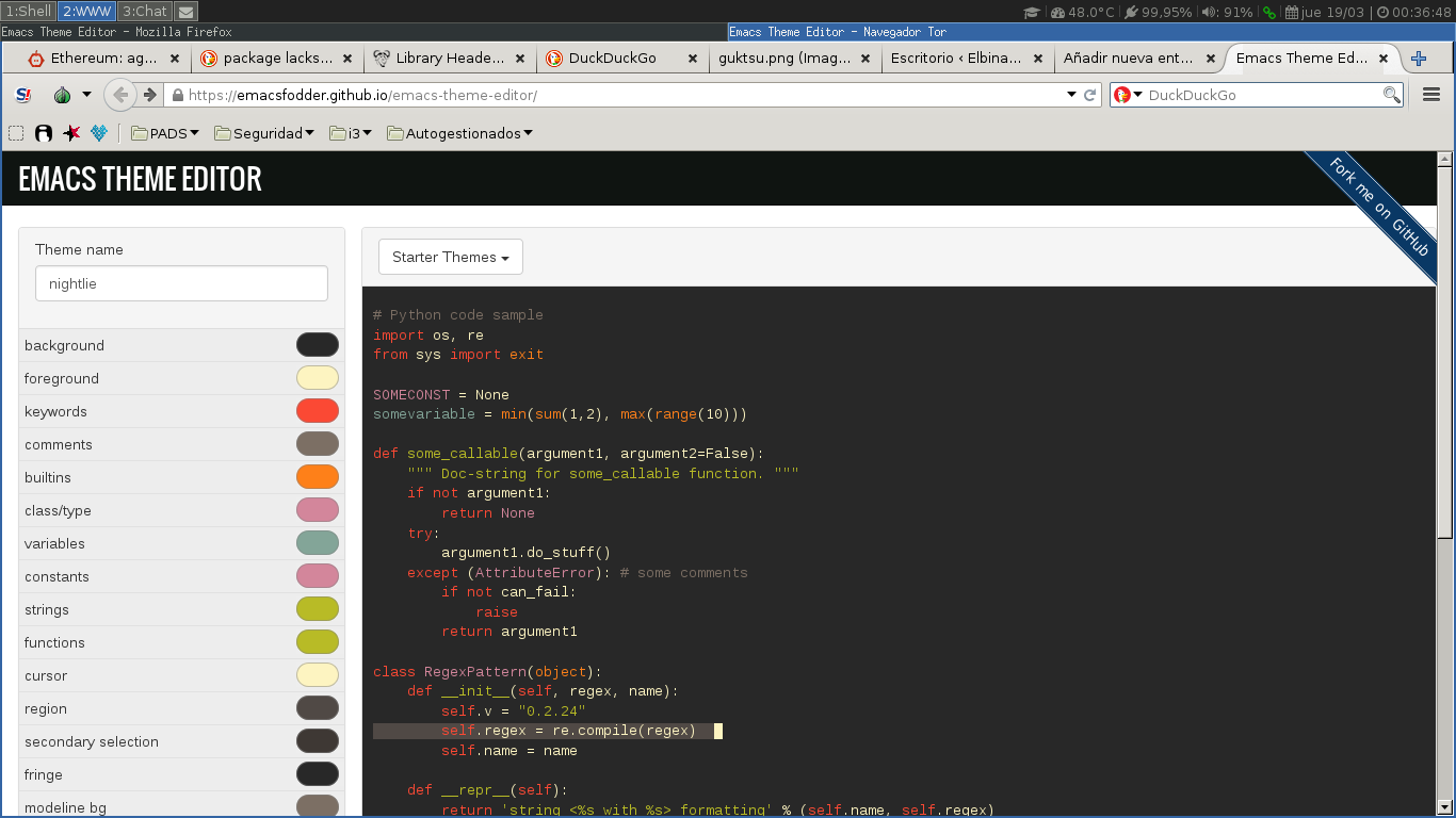 emacs-theme-editar